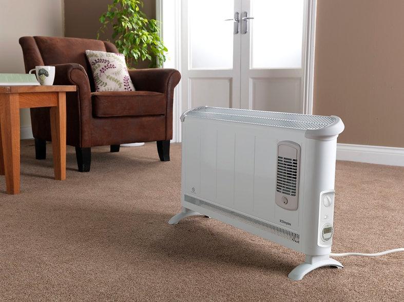 Dimplex Convector Stat Fan Heater floor standing