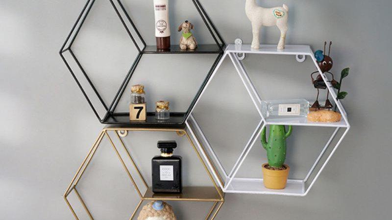 Iron Grid Invisible Shelf