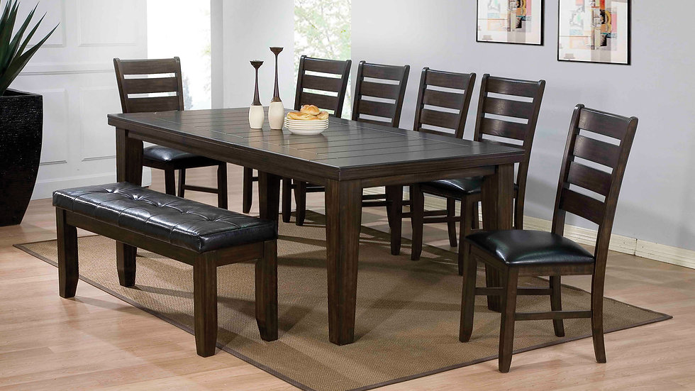 "Espresso Dining Table - 42"" X 48-66"""
