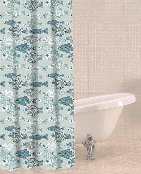 Sabichi Baby Fish Shower Curtain