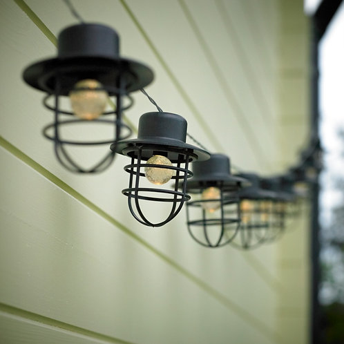 Dusk To Dawn 20 String Lights Lanterns