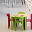 Thumbnail: Children Table - Swiss Design Classic - Solid Beech Wood (Green)