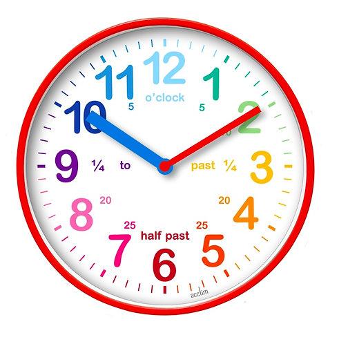"Acctim Wickford Kids ""Time Teach"" Clock - 20cm"
