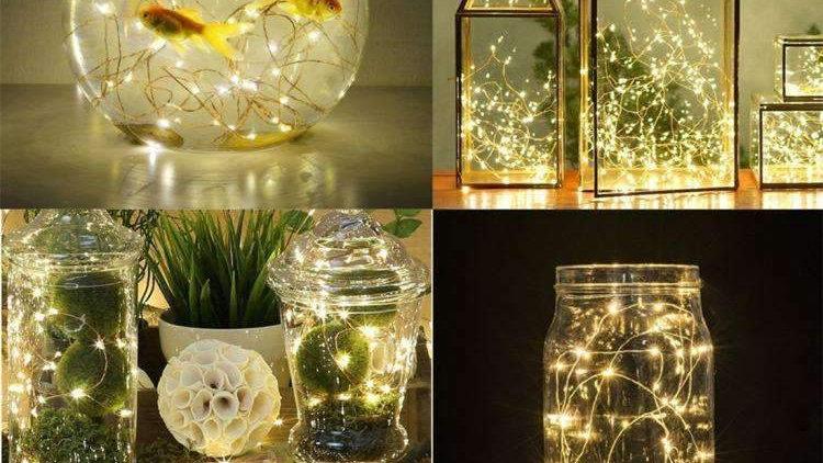 AMZER Fairy String Light 15 LED 1.4m Waterproof Button Battery