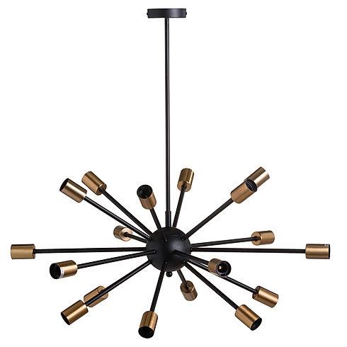Large Black And Brass Bomb Light.jpg