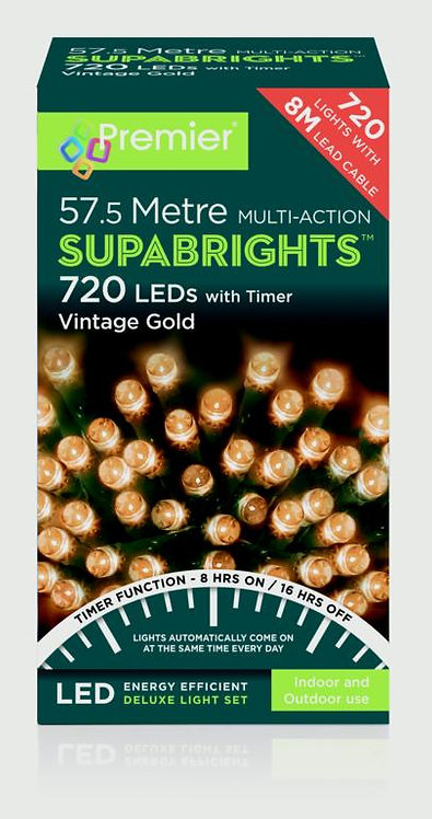 Premier Multi-action Battery Operated White LED Lights