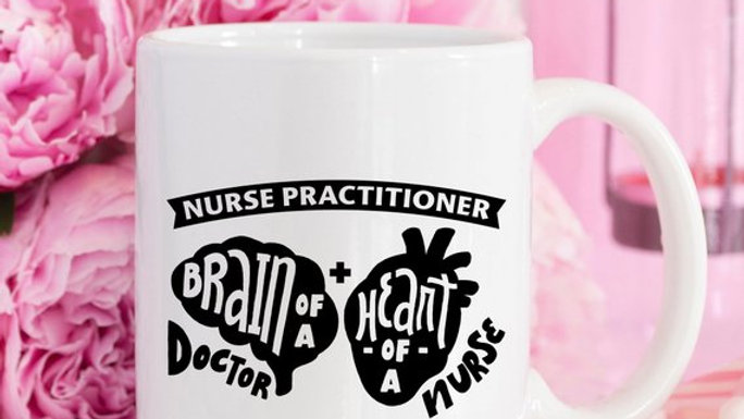Nurse Practitioner. Brain Of A Doctor. Heart Of A