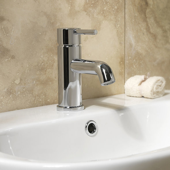 SP Lily Chrome Lever Basin Mixer Tap Installation