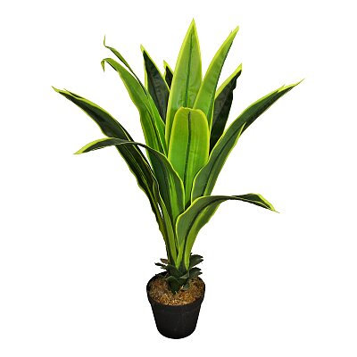 Artificial Dracaena Plant with 15 leaves - 80cm tall