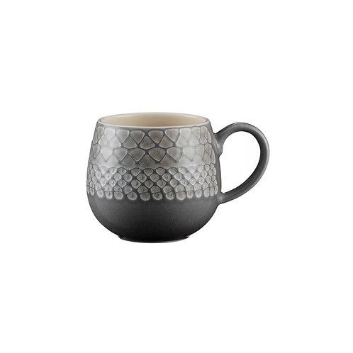 Set of Mason Cash Impressions Mugs - Grey