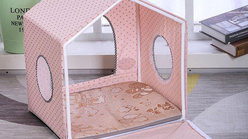 Pastel Pet House