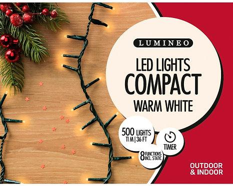 Kaemingk LED Twinkle Compact Lights - 11m