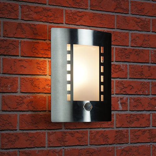 Ranex Outdoor IP44 Stainless Steel Wall Light