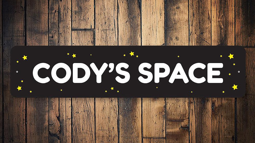 Kids Space Sign