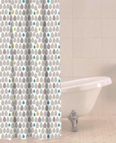 Sabichi Raindrops Shower Curtain