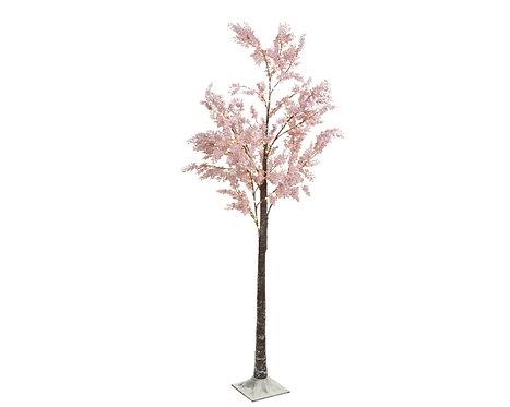 180cm Micro LED Flower Tree Pink