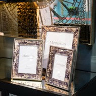 Bronze Foil Metallic Frame