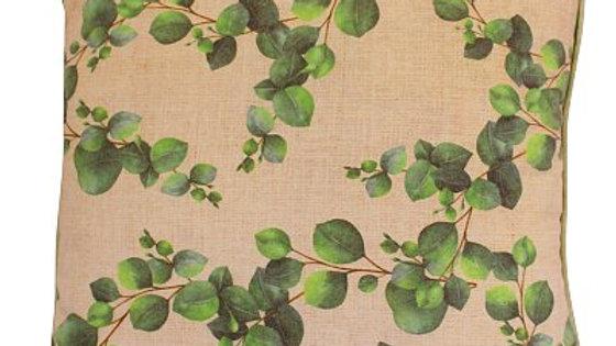 Eucalyptus Design Square Cushion