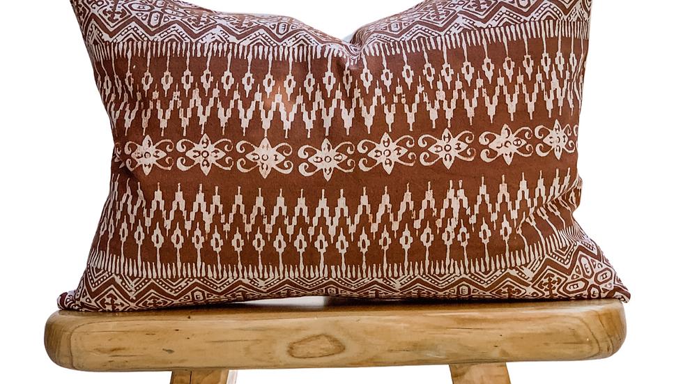Matilda - Handwoven fabric cushion
