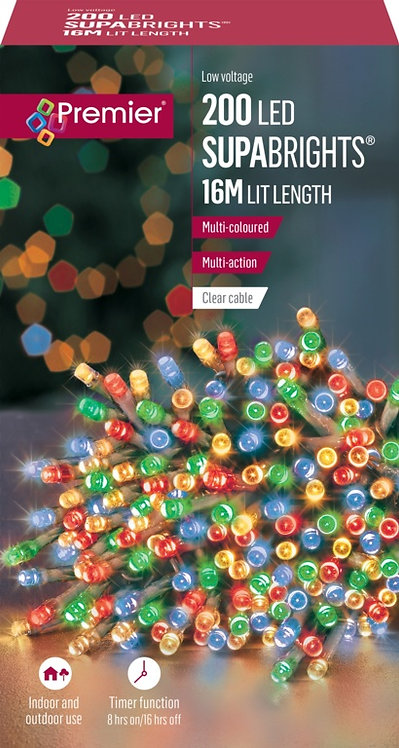 Premier 200 LED Multi Action Supabrights