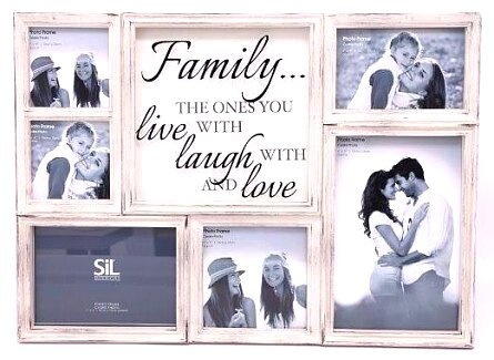 Family Multi Photo Frame - 50cm