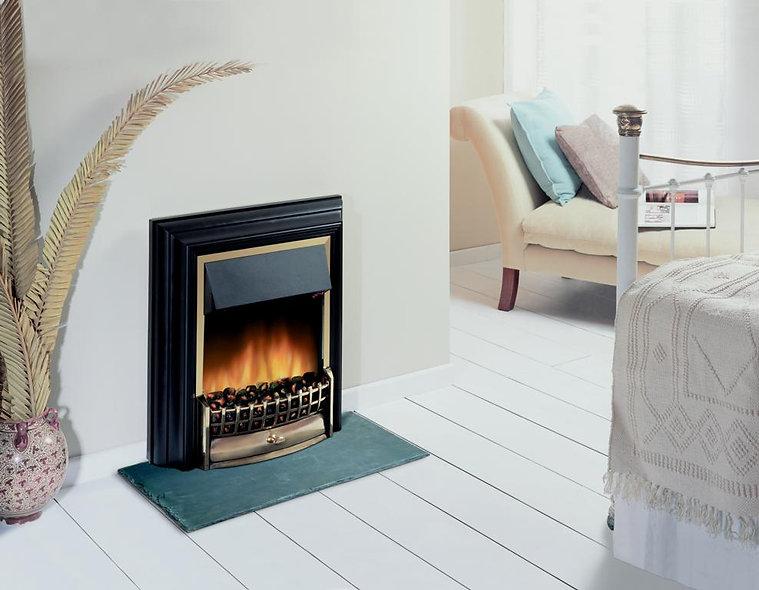 Dimplex Cheriton Free-Standing Fire - Black installed
