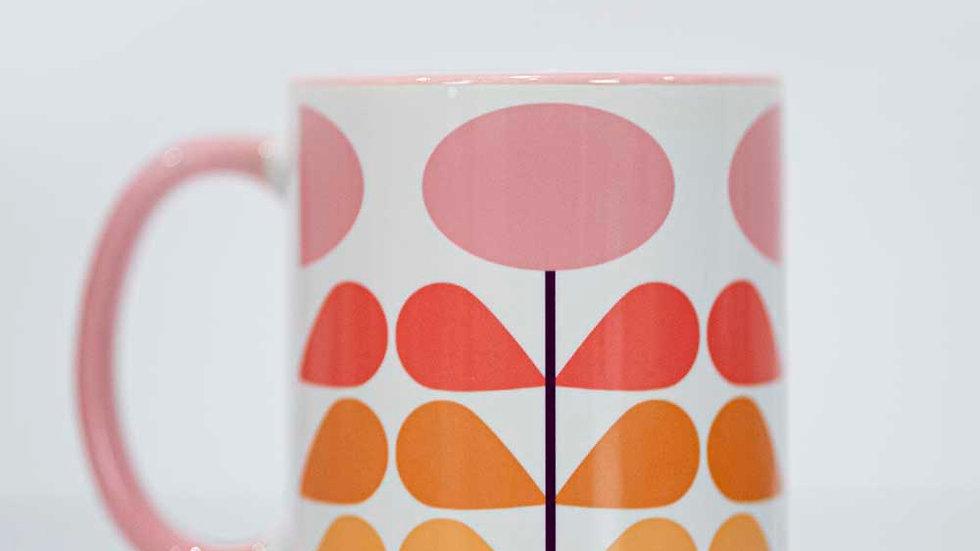 Mod Flower Coffee Mug