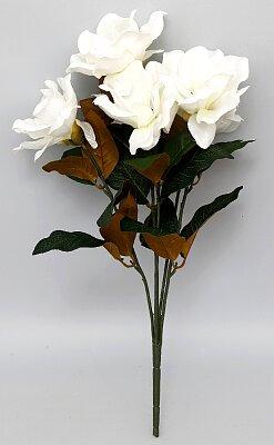Faux Magnolia Stem - 56cm