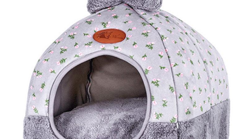 Pet Cat Dog Bed & Sofa Warming Dog House Soft Dog