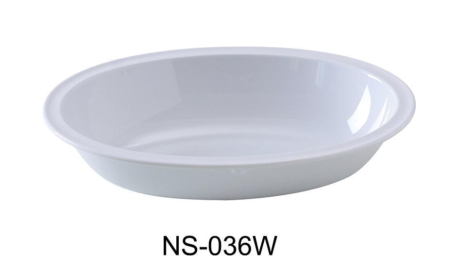 Yanco NS-036W Nessico Oval Bowl