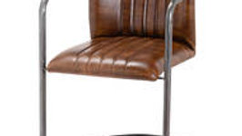 Billy brand Leather Dining Chair