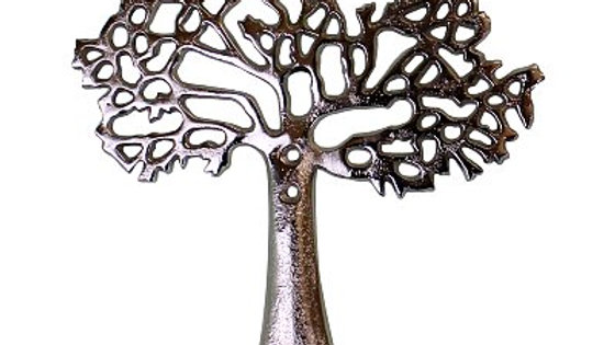 """Tree Of Life"" Wall Hanging Double Coat Hook"