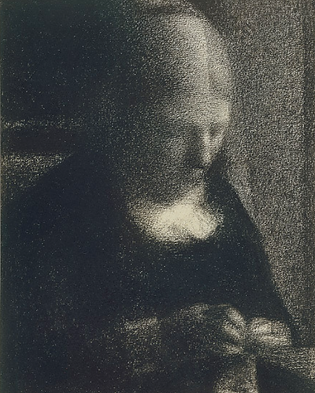 Georges Seurat_woman reading.png