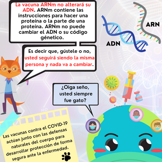 Tengo preguntas sobre la vacuna de COVID