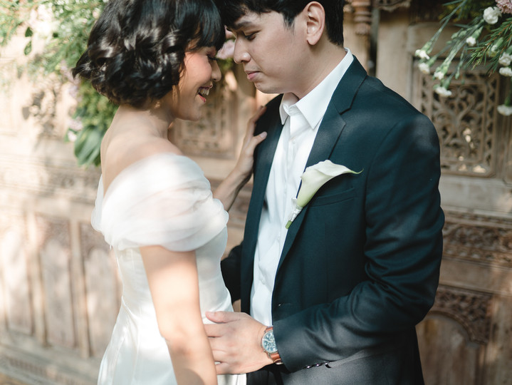 The Intimated Wedding of