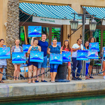 Design & Dine - Celebration Party / Paint & Wine Private Party - Dubai / Abu Dhabi / Al Ain