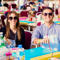 Design & Dine Pop Art Party Brunch Yas Island Abu Dhabi / Dubai