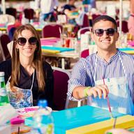 Design & Dine Pop Art Party Brunch Yas Island Abu Dhabi / Dubai