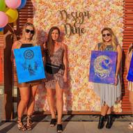 Design & Dine - Birthday Celebration Party / Paint & Wine Private Party - Dubai / Abu Dhabi / Al Ain