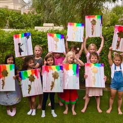 Design & Dine - Childrens' Art Lessons / Childrens' Painting Workshop - Dubai / Abu Dhabi / Al Ain