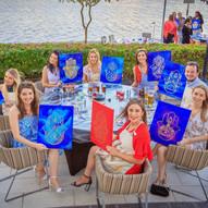 Design & Dine - Birthday Party / Paint & Wine Private Party - Dubai / Abu Dhabi / Al Ain