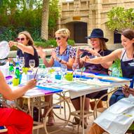 Design & Dine - Celebration Party / Paint & Wine Private Party - Dubai / Abu Dhabi / Al Ain