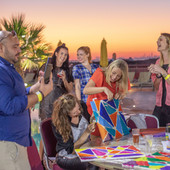 Design & Dine 'Music Icons' Brunch Abu Dhabi / Dubai, Sunset