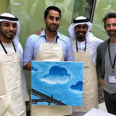 Design & Dine - Corporate Event / Team-bulding Day (Paint & Dine Fun)