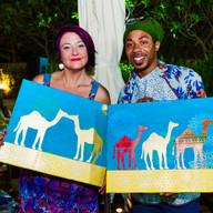 Design & Dine Pop Art Brunch Abu Dhabi / Dubai