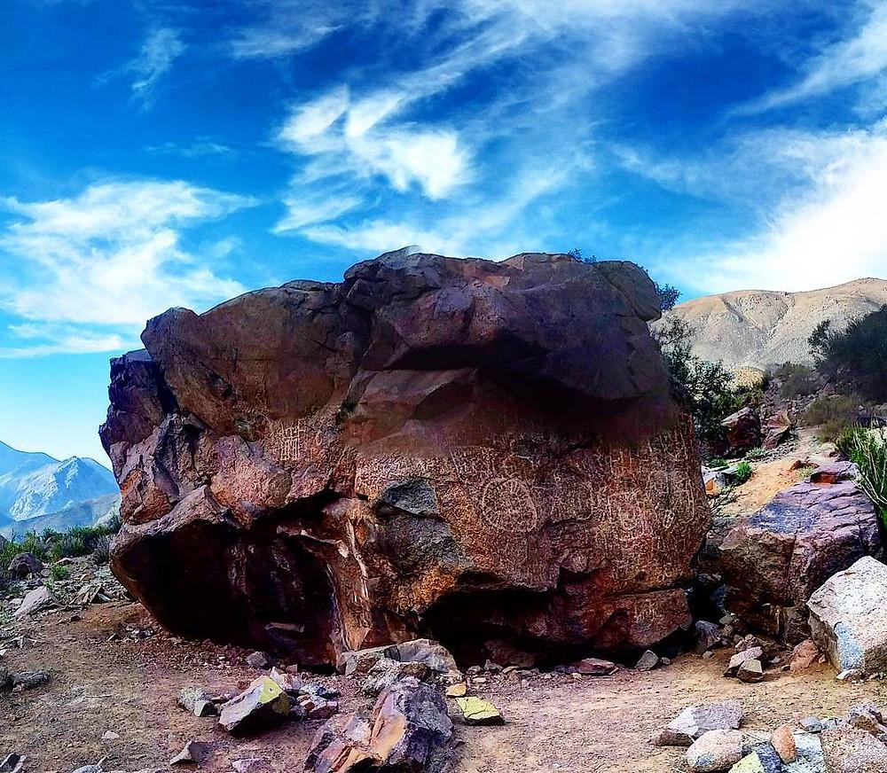 Quebrada de Uchumí Valle del Elqui