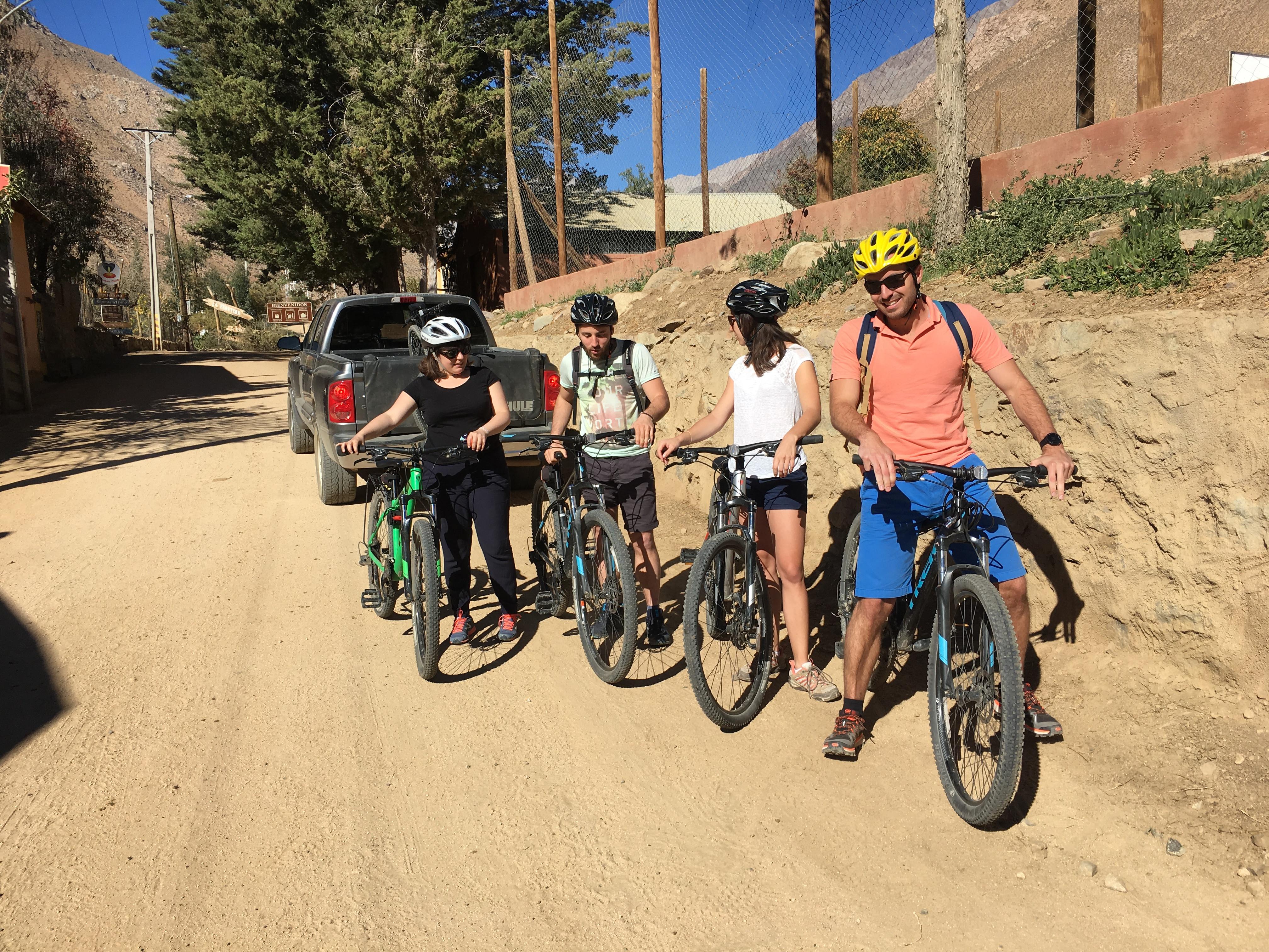 Actividad Bicicleta Alcohuaz  / Vicuña