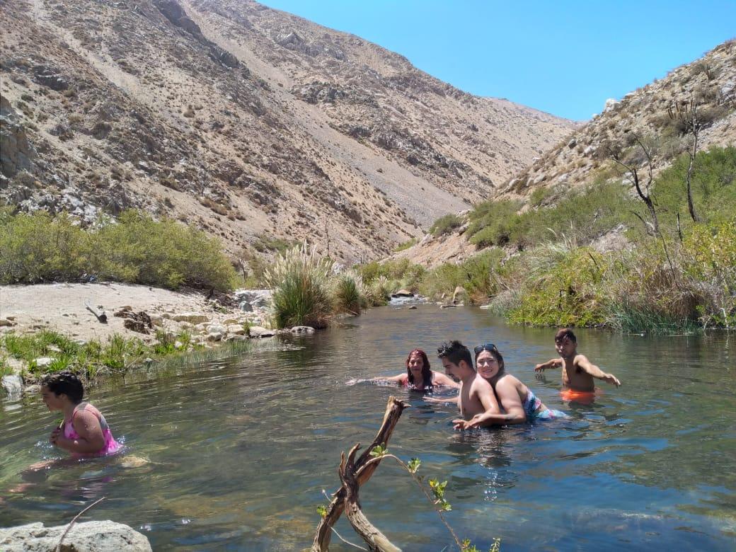 Actividad Cabalgata rio Cochiguaz
