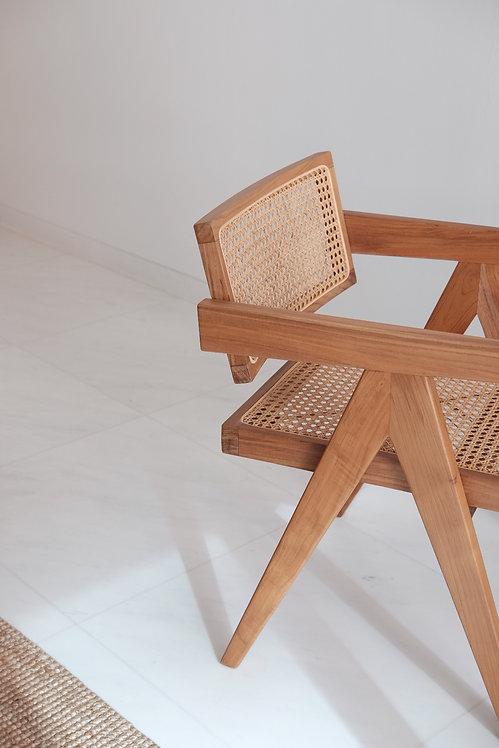 Custom JP-Style Lounge Chair