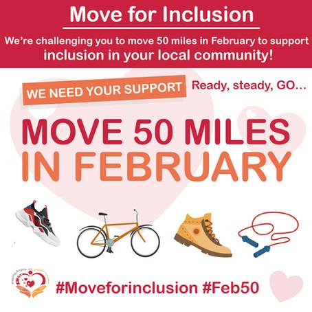 Move for Inclusion #Feb50